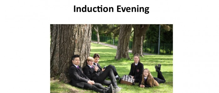 YEAR 6 INDUCTION EVE POSTER 2018
